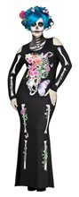 Picture of Beautiful Bones Adult Womens Plus Size Costume