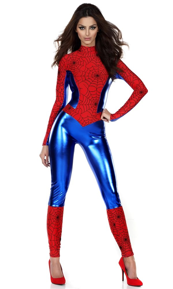 Picture of Perfect Spidey Sense Adult Womens Costume