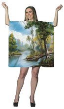 Picture of Bob Ross Painting Adult Womens Dress
