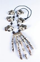 Picture of Voodoo Hand & Skulls Necklace