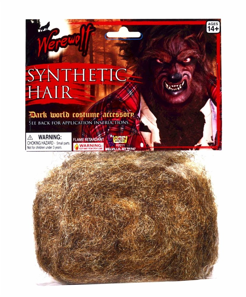 Picture of Werewolf Brown Synthetic Hair