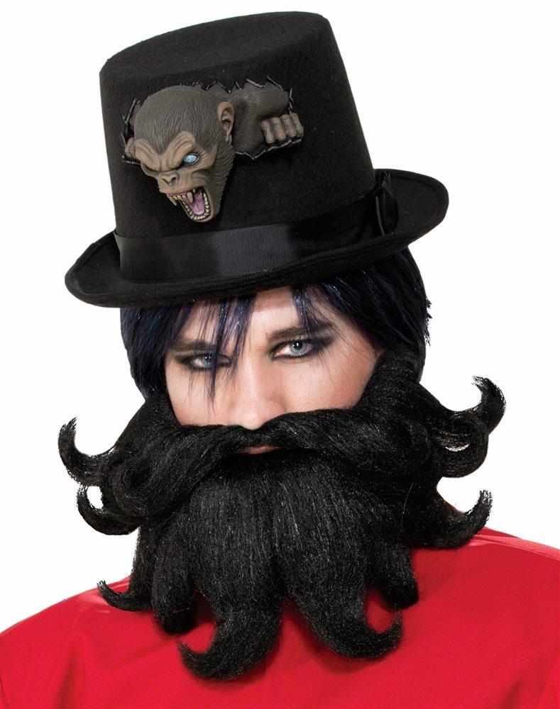 Picture of Freak Show Scoundrel Moustache & Beard Set