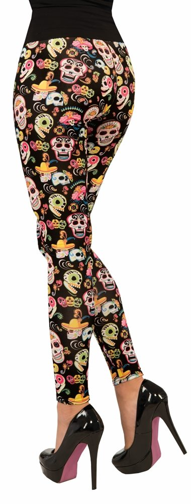 Picture of Day of the Dead Leggings