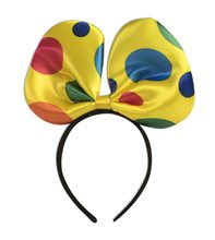 Picture of Circus Polka Dot Bow Headband