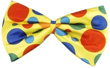 Picture of Circus Clown Jumbo Foam Bow Tie