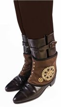 Picture of Steampunk Spats with Gears
