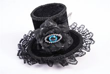 Picture of Gothic Evil Eye Mini Top Hat
