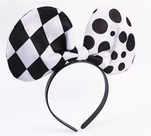 Picture of Harlequin Bow Headband