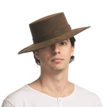 Picture of Spanish Flamenco Faux Leather Hat