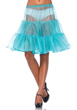 Picture of Tiffany Blue Shimmer Organza Petticoat