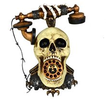 Picture of Skull Head Telephone