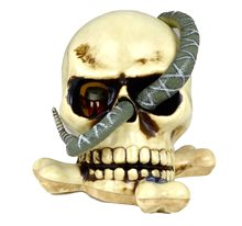 Picture of Skull with Snake Tail