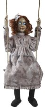 Picture of Swinging Decrepit Dessie Doll Animated Prop