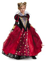 Picture of Red Queen Deluxe Child Costume