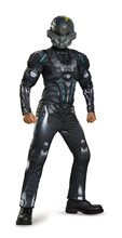 Picture of Halo Spartan Locke Muscle Tween Costume