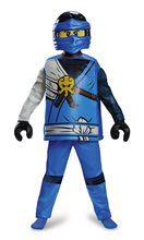 Picture of Lego Ninjago Deluxe Jay Child Costume