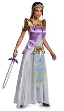 Picture of Zelda Deluxe Gown Teen Costume