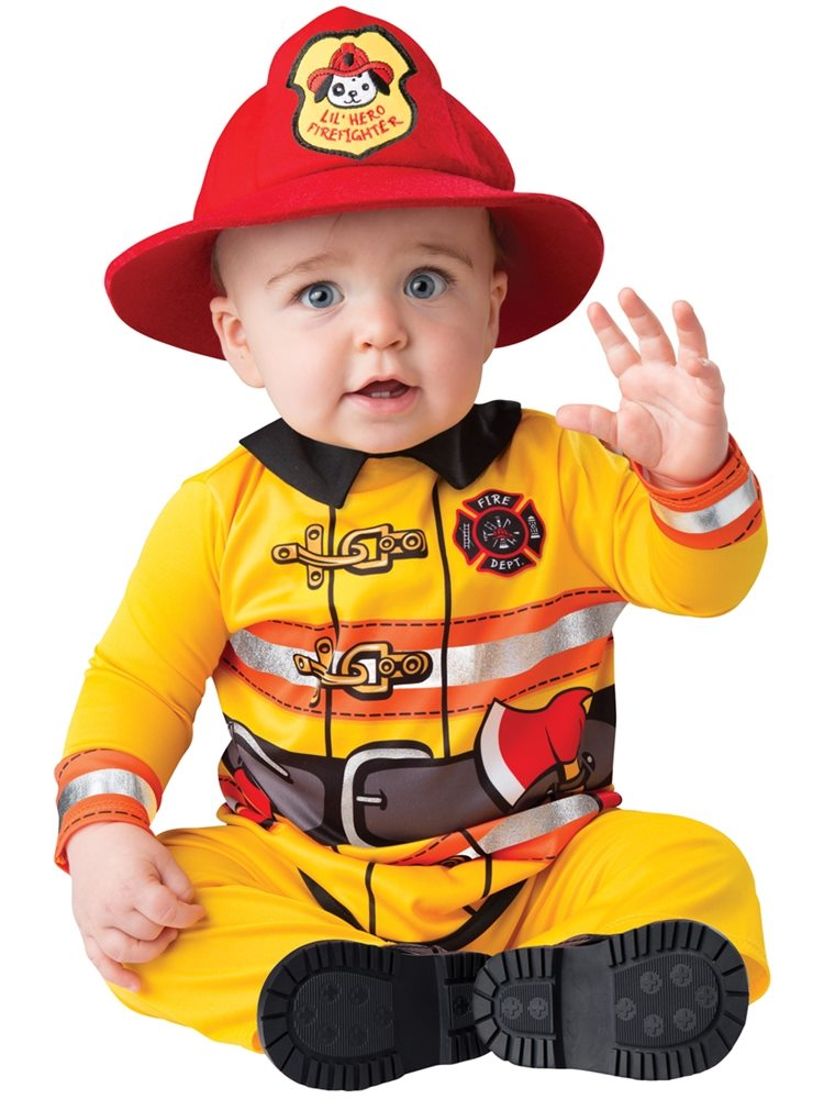 Picture of Fearless Firefighter Infant Costume