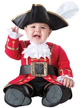 Picture of Pirate Captain Cuteness Infant Costume