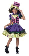 Picture of Mad Hatter Deluxe Dress Child Costume