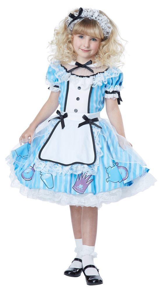 Picture of Alice in Wonderland Deluxe Child Costume