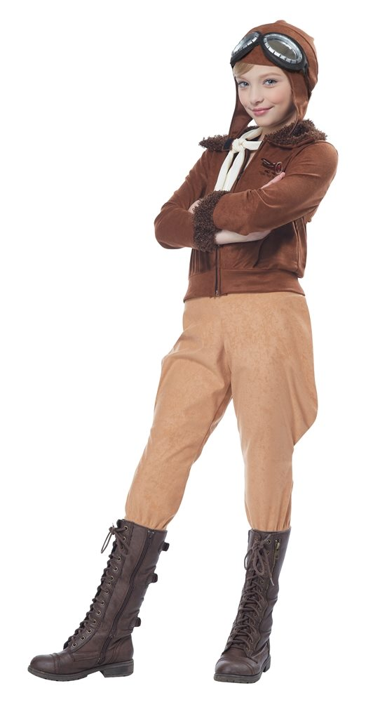 Picture of Amelia Earhart Child Costume