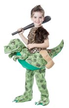 Picture of Dinosaur Rider Caveman Child Costume