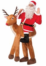 Picture of Santa Ride-A-Reindeer Adult Unisex Costume