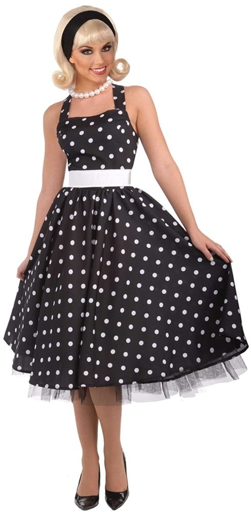 Picture of 50s Polka Dot Cutie Adult Womens Costume