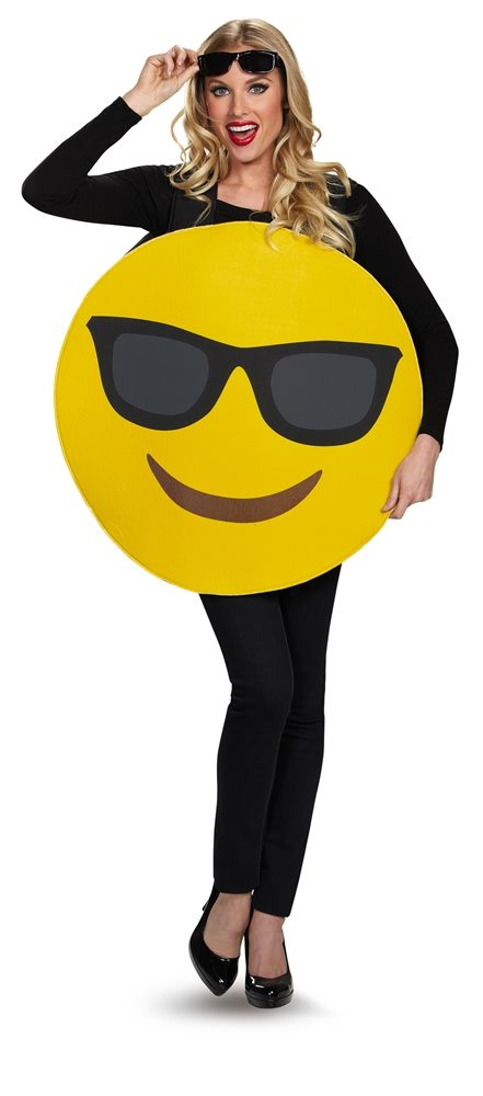 Picture of Cool Sunglasses Emoji Adult Unisex Costume