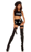 Picture of Sultry Patrol Cop Adult Womens Costume