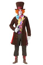 Picture of Electric Mad Hatter Deluxe Adult Mens Plus Size Costume