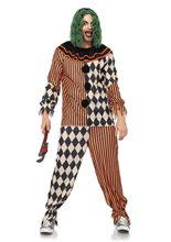 Picture of Creepy Circus Clown Adult Mens Costume