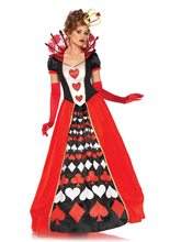 Picture of Deluxe Queen of Hearts Adult Womens Costume
