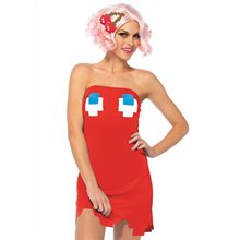 Picture of Pac-Man Blinky Dress Adult Womens Costume