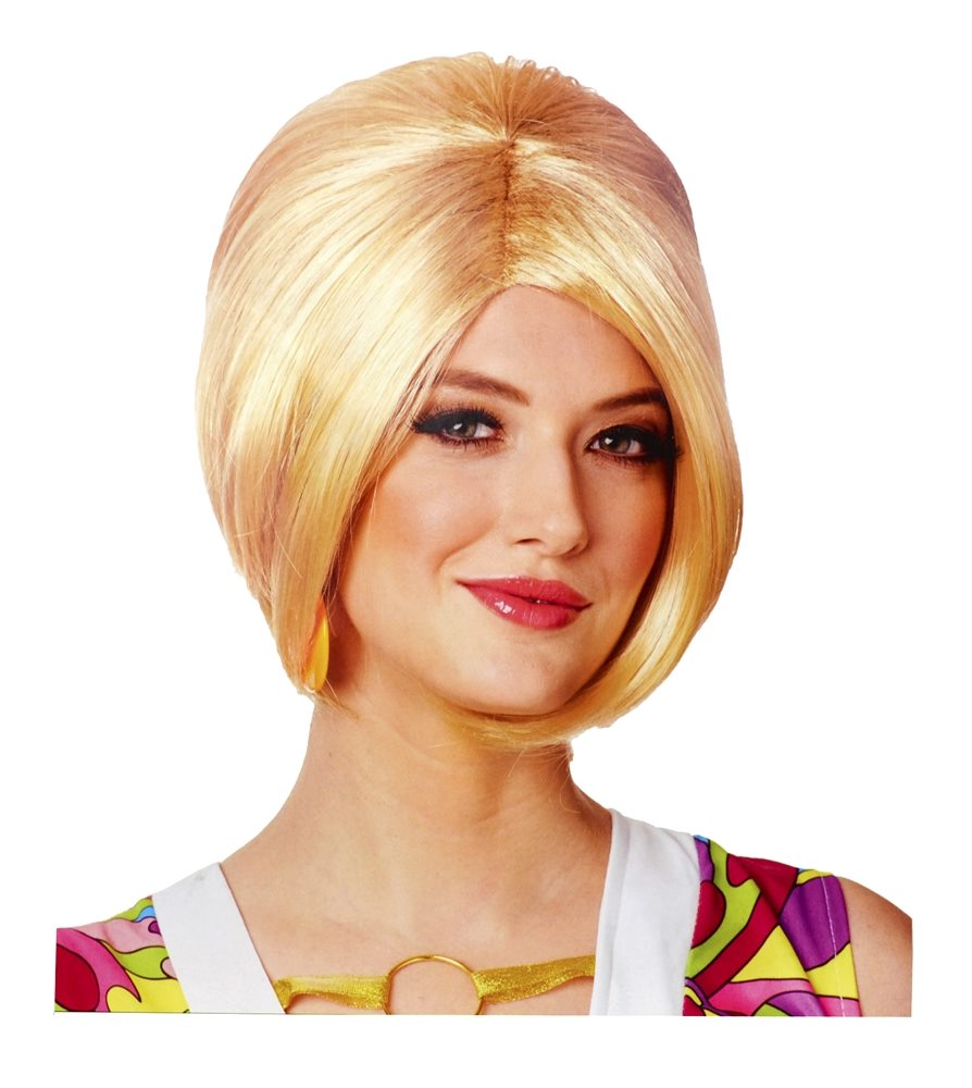 Picture of Blonde 60s Mod Adult Wig