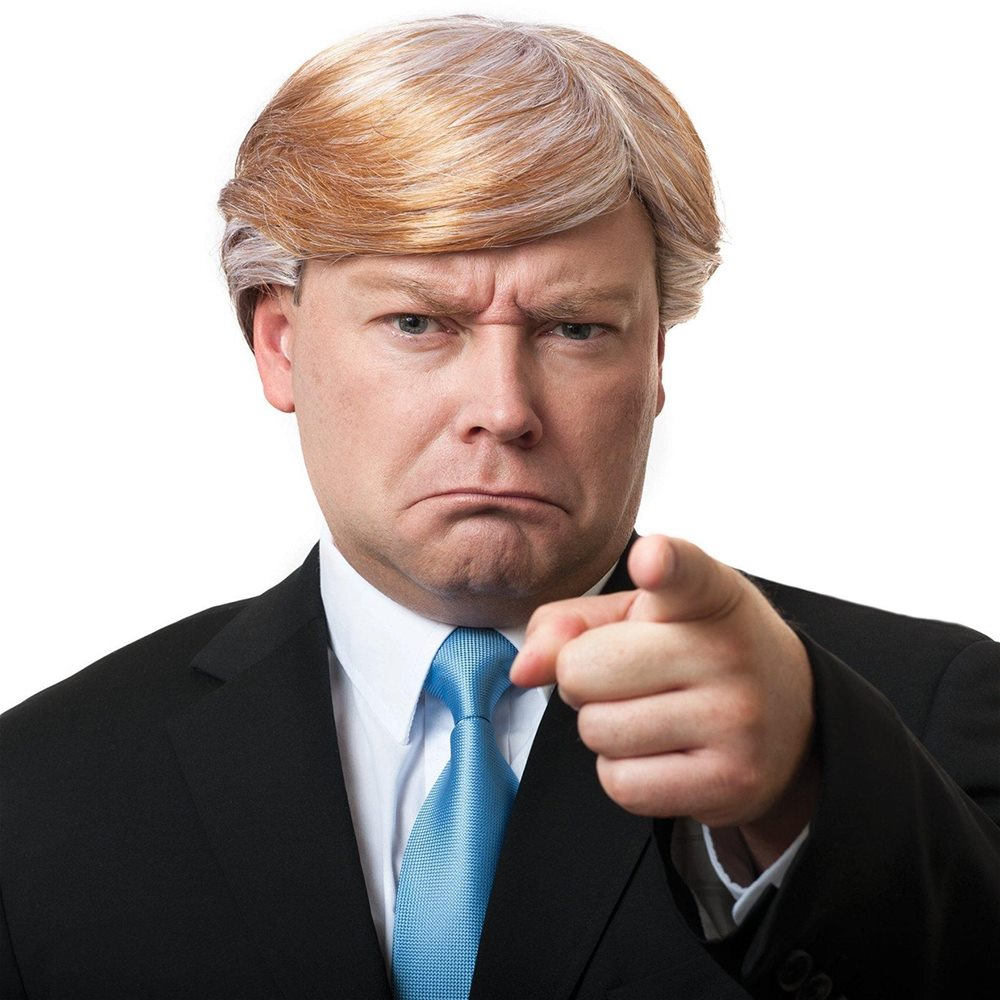Picture of Mr. CEO Trump Wig