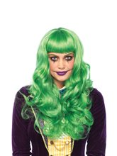 Picture of Misfit Villain Wavy Green Wig