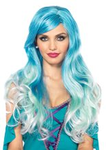 Picture of Blue Ombre Mermaid Wig