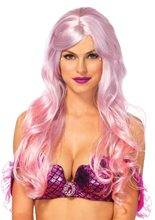 Picture of Pink Ombre Mermaid Wig