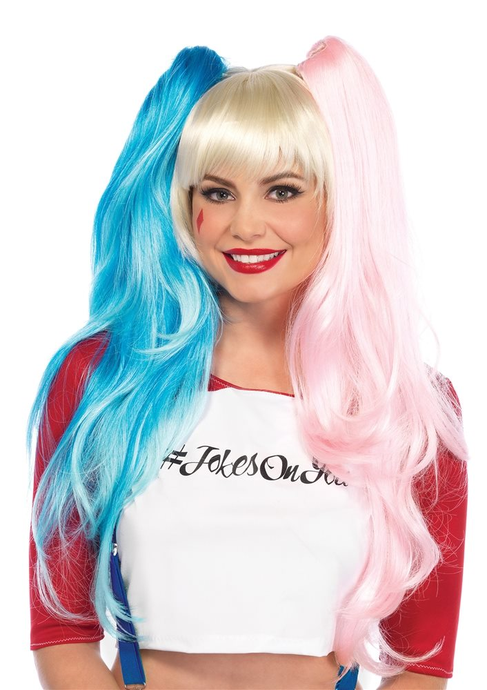 Picture of Misfit Harley Ponytail Tri-Color Wig