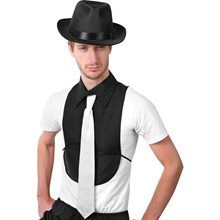 Picture of Gangster Shirt Front with Tie