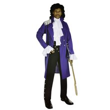 Picture of His Royal Badness Prince Adult Mens Plus Size Costume