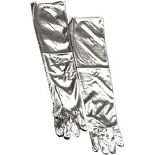 Picture of Silver Lame Gloves