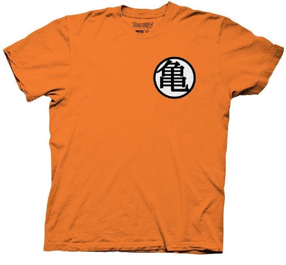 Picture of Dragon Ball Z Kame Symbol Adult Mens T-Shirt