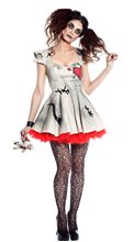 Picture of Voodoo Doll Vixen Adult Womens Costume