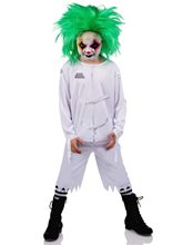 Picture of Psych Ward Clown Child Costume