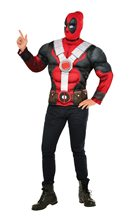 Picture of Deadpool Teen Muscle Shirt & Mask