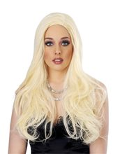 Picture of Blonde Temptress Deluxe Wig