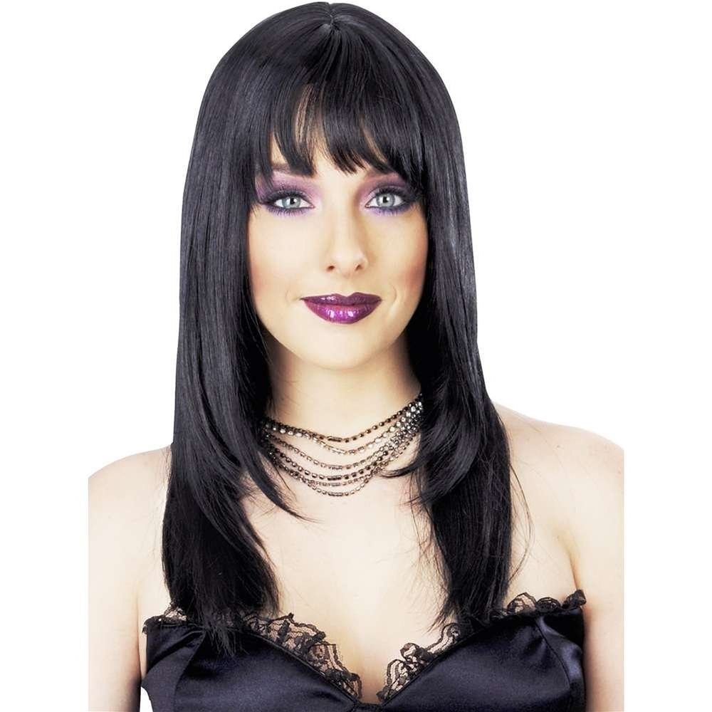 Picture of Black International Bombshell Deluxe Wig